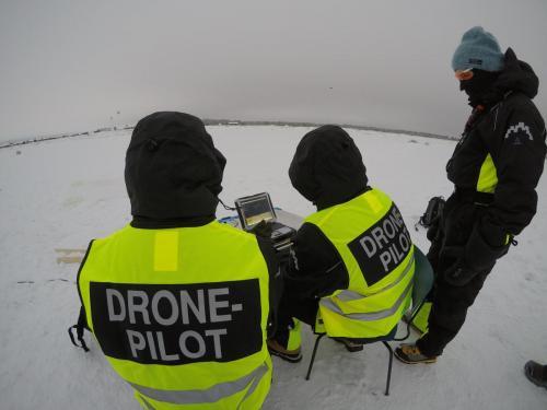 Quadcopter ground control
